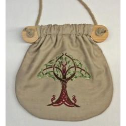 Seidentasche Lebensbaum