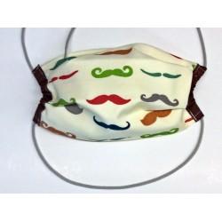 Alltagsmaske Moustache...