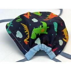 Maske für Kinder Dinos